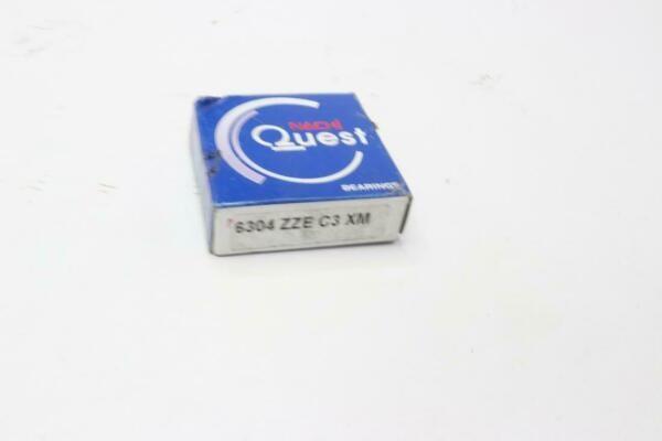 Qty 5 Nachi Bearing Open C3 Japan 20x52x15, 6304