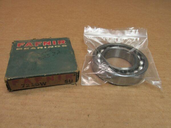 FAFNIR 7210W ANGULAR CONTACT BEARING 7210 W 7210WSU 50x90x20 mm USA