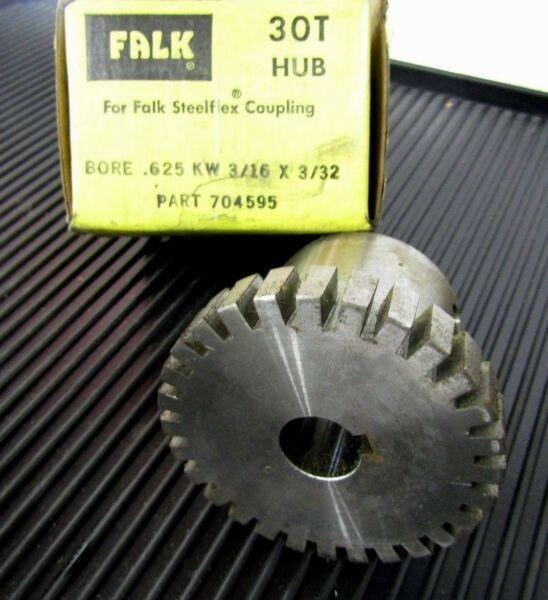 Falk Rexnord 1030T 30T Steel Flex Coupling Hub 0704595 .625