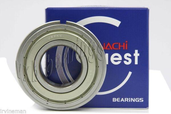 6011ZZENR Nachi 55mm x 90mm x 18mm Shielded C3 Snap Ring Japan Ball Bearings