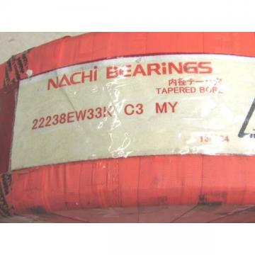 Nachi 22238 EW 33K Spherical Roller Bearing 190 X 340 X 92 mm Tapered Bore