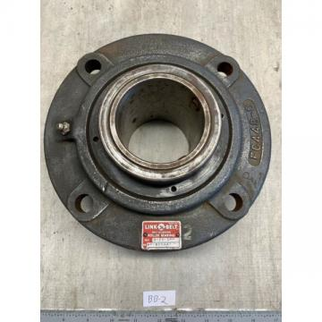 "LINK-BELT FC-B22447-H Four-Bolt Piloted Bearing {2-15/16"" Bore} **WARRANTY**"