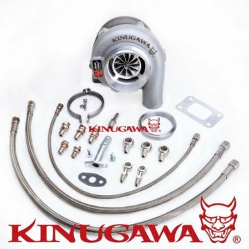 "Kinugawa Ball Bearing Turbo 4"" GTX3576R w/ .57 T3 For NISSAN RB20/RB25 Top Mount"