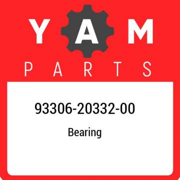 93306-20332-00 Yamaha Bearing 933062033200, New Genuine OEM Part