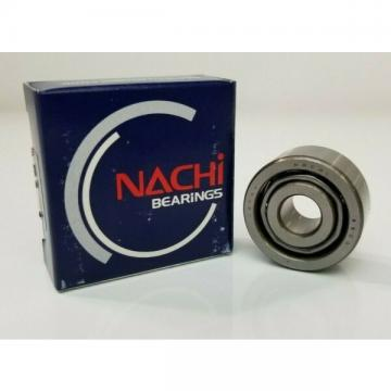 Nachi 5200, Angular Contact Ball Bearing, Open,10mm ID x 30mm OD x 14.3mm WIDE