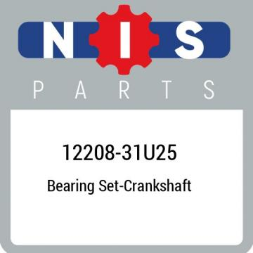 12208-31U25 Nissan Bearing set-crankshaft 1220831U25, New Genuine OEM Part