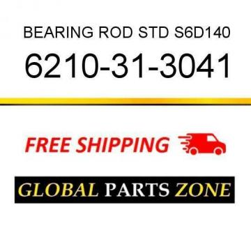 6210-31-3041 - BEARING, ROD STD S6D140 6210313041 fits KOMATSU