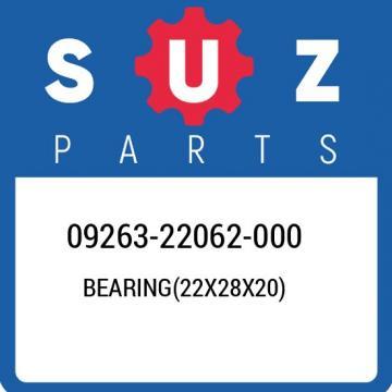 09263-22062-000 Suzuki Bearing(22x28x20) 0926322062000, New Genuine OEM Part
