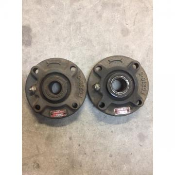 Rexnord Link-Belt FC-215 Ball Bearing FLANGE BLOCK 4 Bolt Holes 15/16