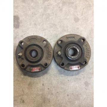Rexnord Link-Belt FC-215 Ball Bearing FLANGE BLOCK 4 Bolt Holes 15/16