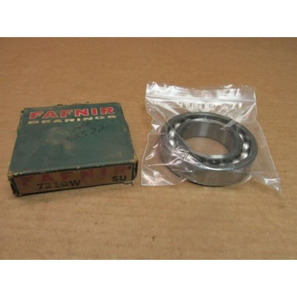 FAFNIR 7210W ANGULAR CONTACT BEARING 7210 W 7210WSU 50x90x20 mm USA #1 image