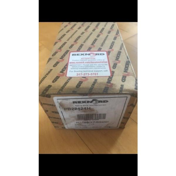 Rexnord Link-Belt PB22424H Pillow Block  Bearing Bore 1-1/2 New #1 image